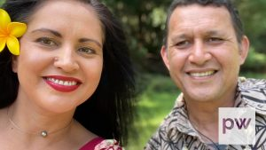 Maryjane and Fred Schwenke, Matavai Pacific Cultural Arts Centre directors.