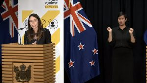 Prime Minister Jacinda Adern announces Alert Level 3 for Auckland, Level 2 for the rest of the country.