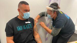 Aaron Te Moananui vaccination - Ministry of Health – Manatū Hauora
