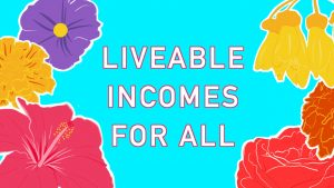 Auckland Action Against Poverty - Liveable Incomes Banner