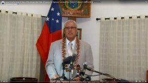 HRH Tuimalealiifano Vaaletoa Sualauvi II of Samoa