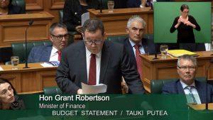Grant Robertson Budget Statement Tauki Pūtea 2021