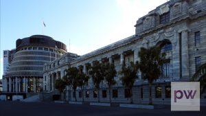 New Zealand Parliament Buildings - © 2021 Pasifika Wire