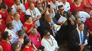 Address outside Samoa Supreme Court - Samoa Global News/Facebook